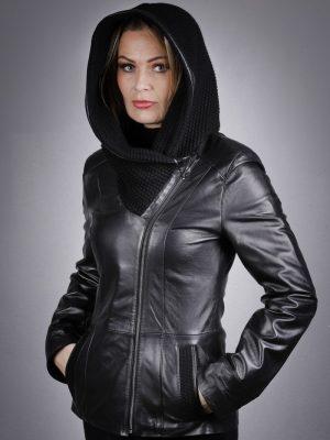 Női bőrkabát Benice – K200230