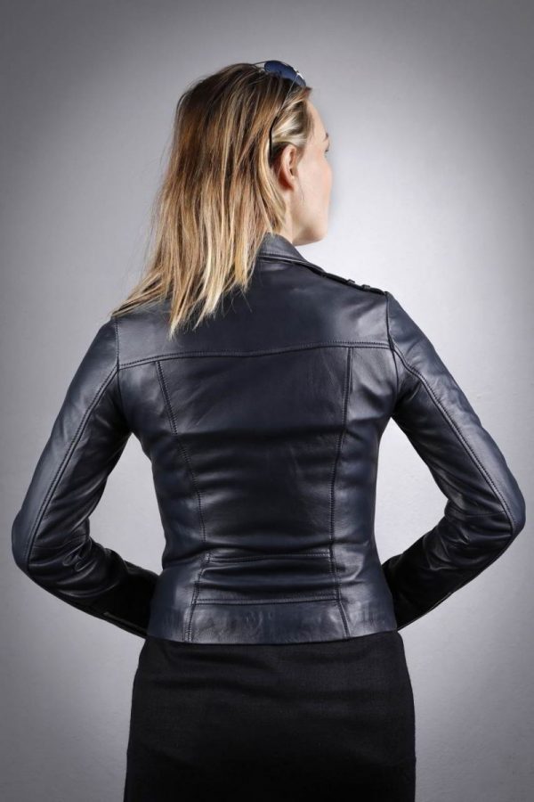 Női bőrkabát Dilberay – K200230