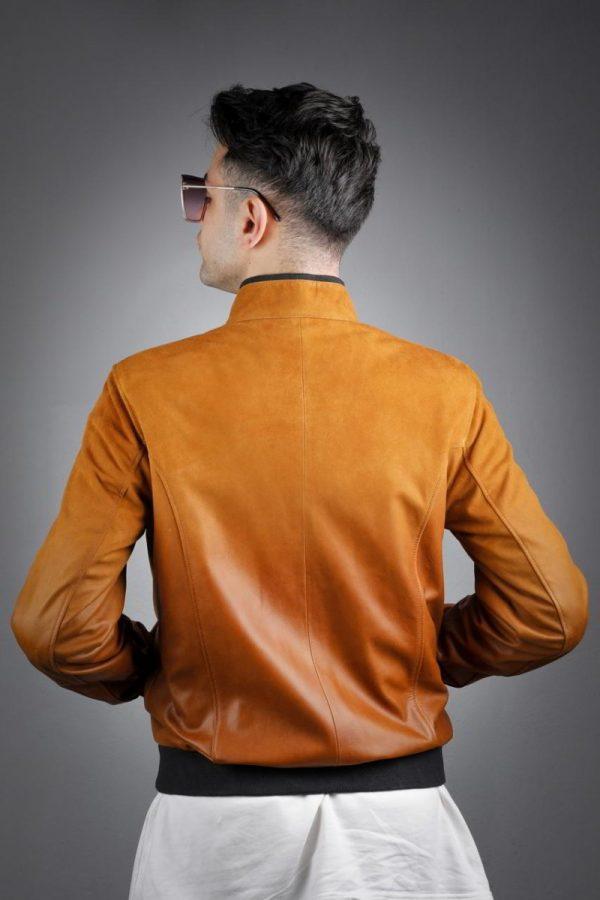 Férfi bőrkabát Feda – E100304