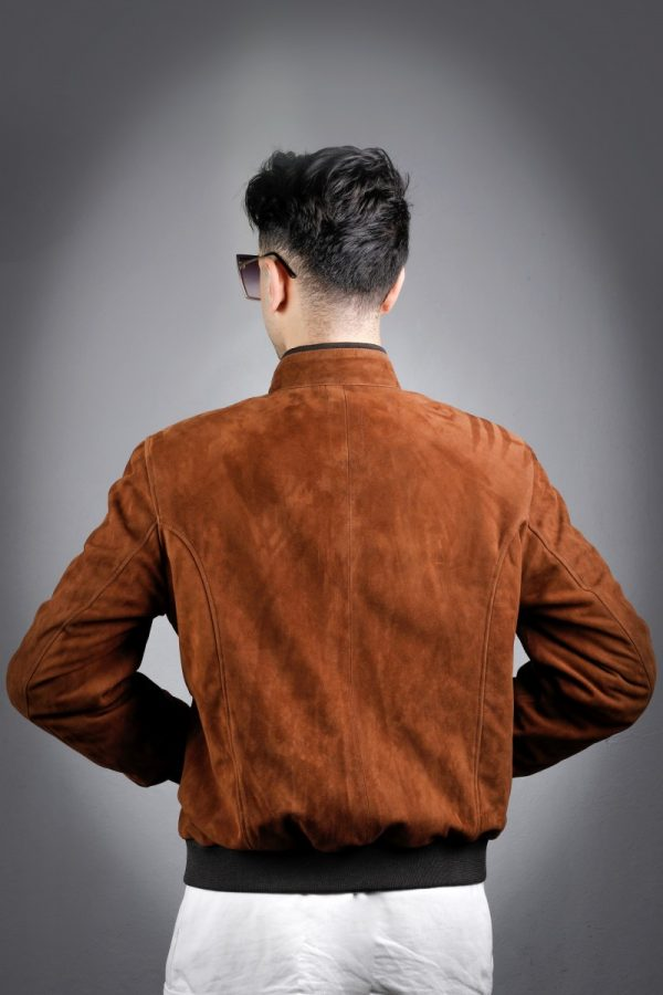 Férfi bőrkabát Hasan – E100339