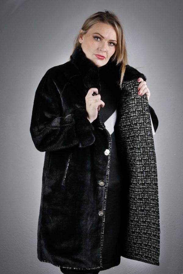 Téli bőrkabát Dilara – K200213
