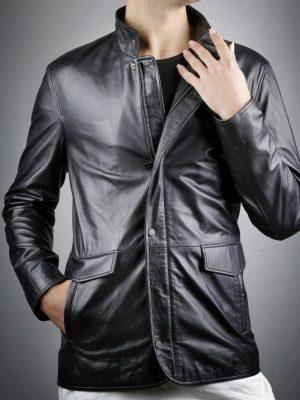 Férfi bőrkabát  Emir – E100358