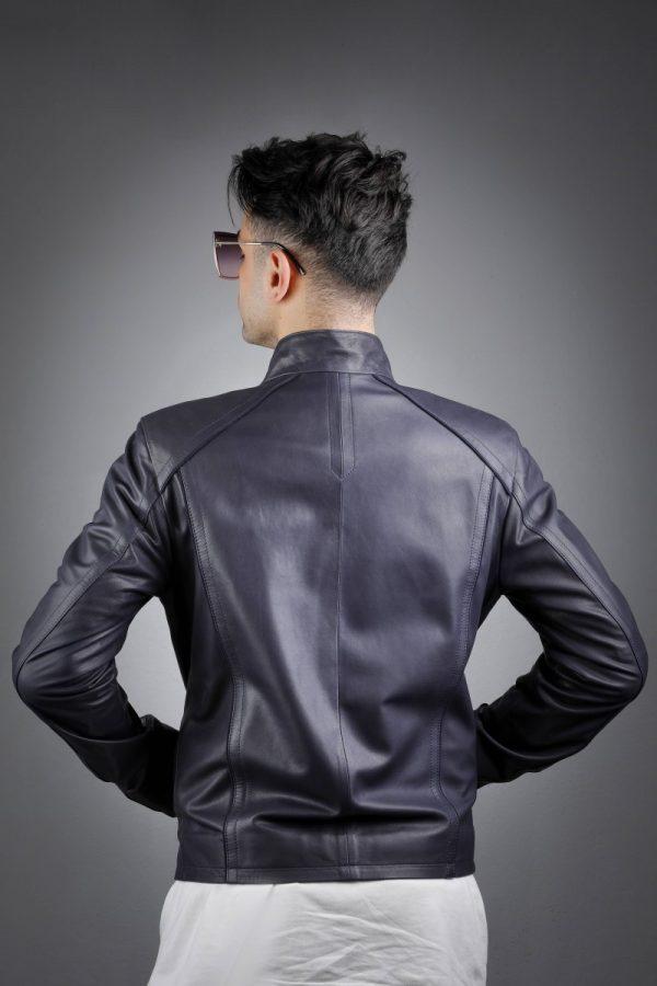 Férfi bőrkabát Baha – E100312