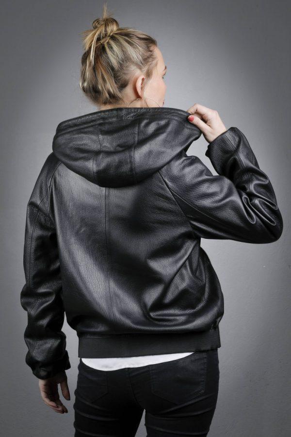 Női bőrkabát Elvan- K200242