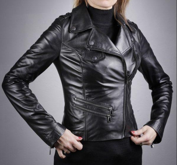 Női bőrkabát Destan – K200227