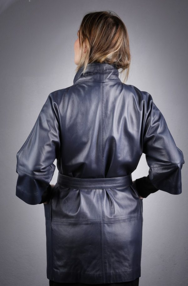 Női bőrkabát Berva – K200209