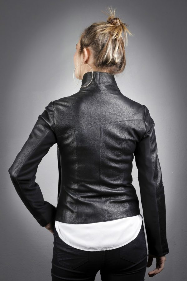 Női bőrkabát Funda – K200238
