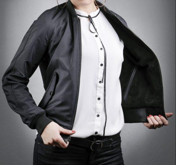 Női bőrkabát Gaye – K200256