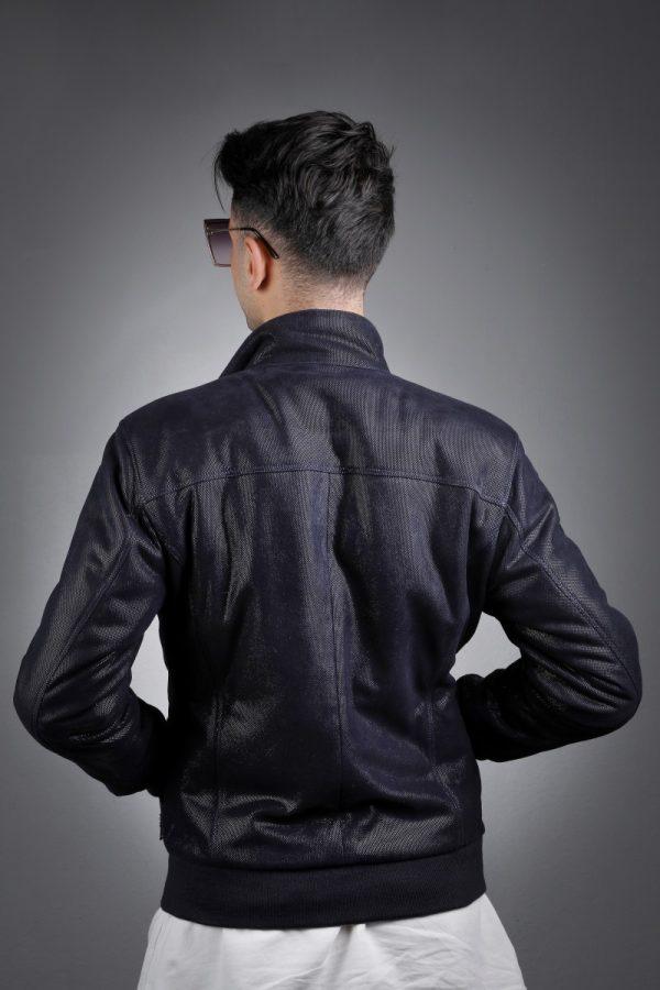 Férfi bőrkabát Namdar – E100307