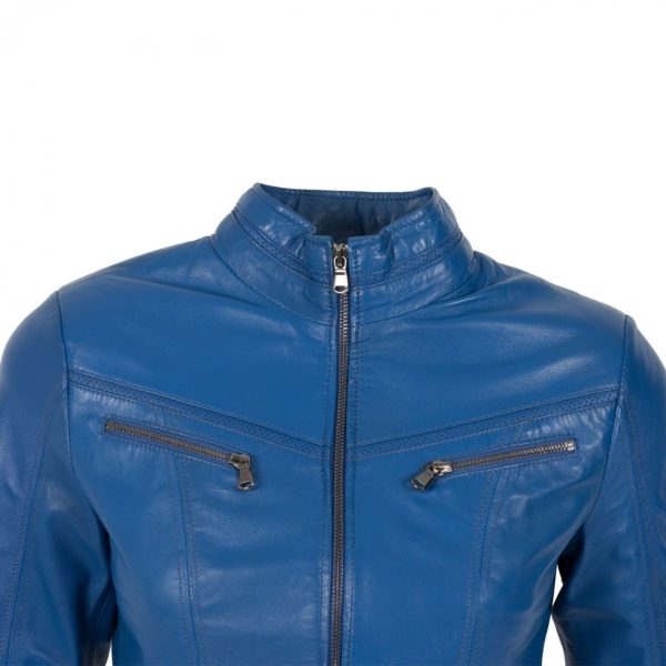 NŐI BŐRKABÁT FLORENTINA BLUE- K200281